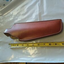 NOS-EL PASO SADDLERY LEATHER HOLSTER-FITS RUGER 22--GREAT LOOK--RIGHT HANDED