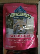 Blue Buffalo Wilderness Tasty Salmon Wet Cat Food - 24Pk/3Oz