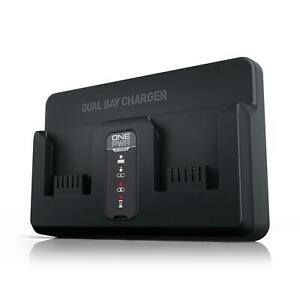 Hoover ONEPWR Dual Bay Battery Charger BH05200