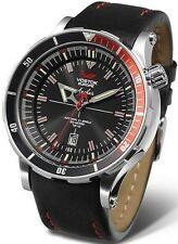 Vostok Europe Anchar Submarine Automatic Silver/Black Watch NH35A/5105141