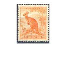Australia 1938 ½d Orange KANGAROO (CofA Wmk, perf 13½x14) Unhinged Mint SG 164