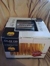 NEW - NOS MARCATO ATLAS Pasta Machine # 150 NIB / Makes round & flat spaghetti