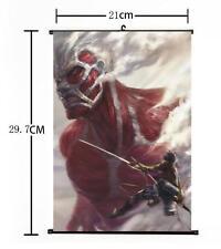 HOT Japan Anime Attack on Titan Survey Mikasa Home Decor Poster Wall Scroll 04