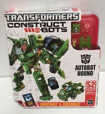 Transformers Construct Bots Autobot Hound Construct & Customize New Sealed