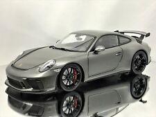 Minichamps Porsche 911 (991.2) Gt3 991 Ii Facelift Mk2 2017 Grey Metallic 1:18