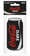 1 x Coca Cola Coke Zero Can Car Air Freshener -  Coca Cola Zero Scent
