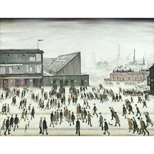 L S Lowry - Going to the Match - MEDICI POSTCARDS