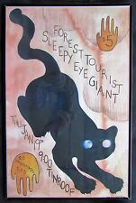 2012 Sleepy Eye Giant / Forest Tourist - Concert Poster - Tinroof Charleston, SC