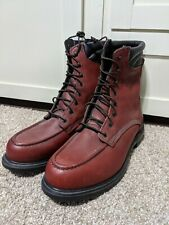Red Wing 402 Supersole Leather 8-Inch Soft Toe Work Boots USA Made Size 11D NEW