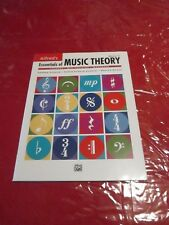 Brand New Alfred's Essentials of Music Theory, Book 1 Workbook