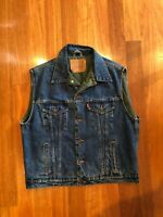 Levis Original Quilted Mens Vest double sided Size Large