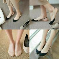 1Pair Lady Summer Half Feet Invisible Liner Sock Anti-Skid No Show Low Cut Socks