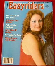 EasyRiders Magazine #131 May 1984 David Mann Centerfold NEW Condition
