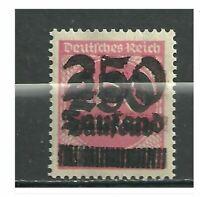 1923 German Hyper inflation Double Over Print Error Stamp #2