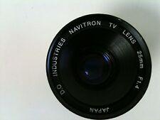 D.O. Industries Navitron TV Lens 25mm. F1.4