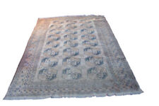 Woolen Rectangle Afghan Antique Carpets & Rugs