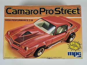 Ertl MPC 1/25 Scale Chevrolet Camaro Pro Street Model Car Kit 6326 0759