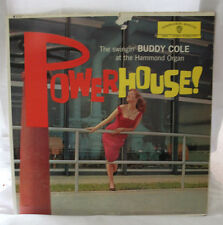 Buddy Cole - PowerHouse! - Jazz Organ - Warner Bros WS1310 Vintage Vinyl