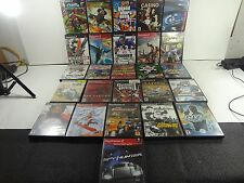 LARGE BUNDLE 27 PLAYSTATION 2 PS2 GAMES MADDEN GTA GOD OF WAR 007 ACE COMBAT