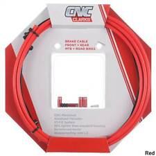 Clarks CNC ZERO-G Lightweight Mountain Bike Brake Cable Kit - RED
