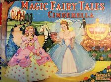 MAGIC FAIRY TALES CINDERELLA EMMA C. MCKEAN VINTAGE CHILDREN RARE BOOK  1943