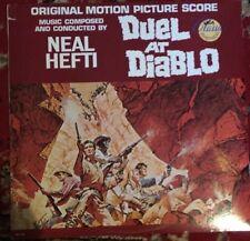 Duel At Diablo-NEAL HEFTI soundtrack LP Comme neuf
