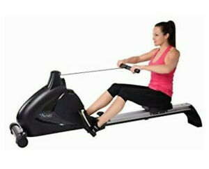 Stamina A350-700 Programmable Magnetic Exercise Rower - Black/Silver