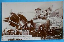 More details for e.pouteau rp postcard (view b) 1909 railway disaster sharnbrook bedfordshire