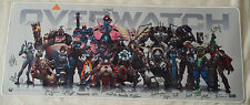 Signed Blizzcon 2016 Overwatch Oversized Desk Mat