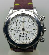 Raro Orologio PHILIP WATCH SEAHORSE Cronografo  Acciaio 39mm Chronograph