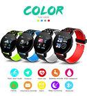 Smart Watch Bluetooth Heart Rate Blood Pressure Sport Fitness Tracker Pedometer