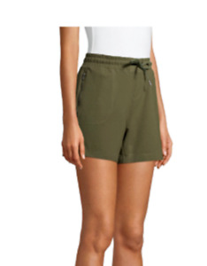 """Athletic Works Women's 5"""" Inseam Athleisure Commuter Shorts..Size S(4-6)..NWT"""