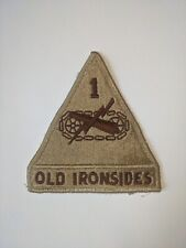 US Army 1st Armored Division Old Ironsides ACU Armor Tank Patch