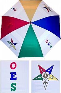 Order of the Eastern Star Reverse Jumbo Golf Umbrella
