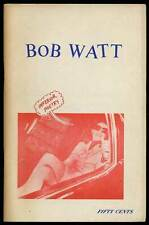 Bob WATT / Inferior Poetry First Edition 1970