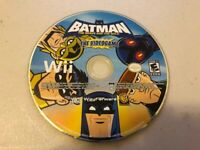 Batman The Brave And The Bold VideoGame (Nintendo Wii) - DISC ONLY