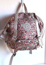 NEW Kipling Backpack Joetsu Color Flower Garden BP3891 612  Small 11.75X10.5X7.2