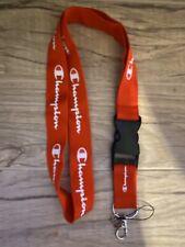 Champion Lanyards detachable keychain clip, ID holder, camera/phone strap