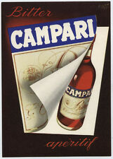 cartolina BITTER CAMPARI illustr. FISA