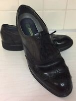 DEXTER USA Dress Shoes Black Leather wingtip lightweight Oxford Mens 8 M