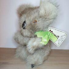 More details for vintage beta koala bear real kangaroo fur soft toy plush australian souvenir 8