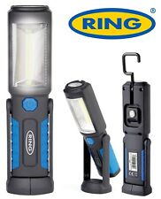 RING - LED Rechargeable Inspection Lamp Work Torch Hand Held Light Hook Magnetic