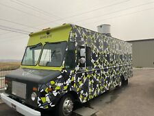 Used Mobile Food Trucks For Sale Chevy Workhorse 26foot Only Used 1 Year