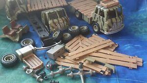BSH @ % SCHLEICH Safari LKW 42004 / 42042 Ersatzteile BITTE AUSWÄHLEN
