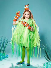 Sea Anemone Costume Clown Fish for Kids Green Fits SIZES 4-6, 8-10