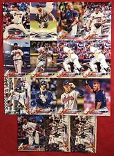 Braves 2018 Topps Series 1 <15 Pack> Team + Lot: Ozzie Albies + Dansby Swanson