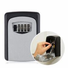 Home Money Key Hider Storage Box 4 Digit Security Code Lock Safe Key Storage