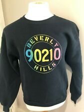Vintage Fruit Of The Loom Beverly Hills 90210 Crewneck Sweatshirt Large Vtg 90s