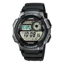 Casio Digital LCD Watch Chrono Timer 5 Alarms WorldTime Light etc AE-1000W-1BVEF