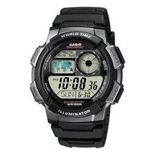 Casio Digital LCD Watch Chrono Timer 5 Alarms WorldTime Light etc AE-1000W-1BVEF